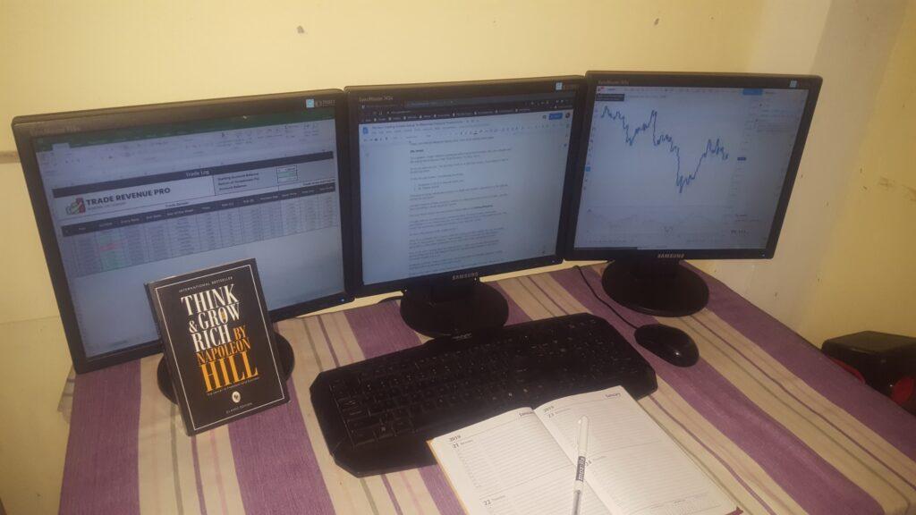 My Forex trading screen  setup